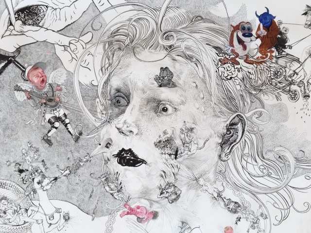 Drawing - Jugend, 2015, Detail 2