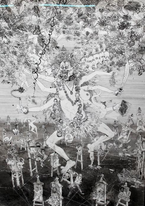Drawinging - Kali, 2014
