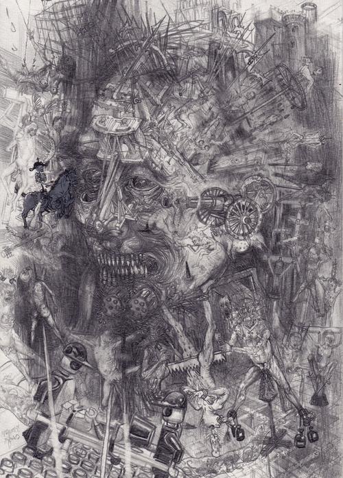 Drawinging - Face of War, 2014