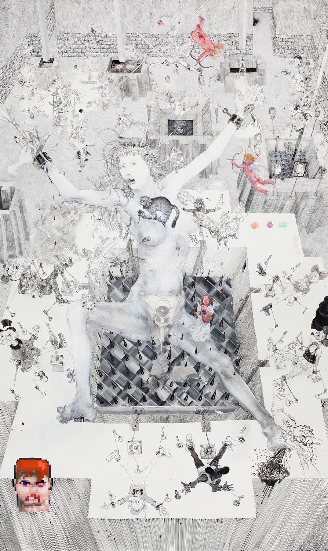 Drawinging - Die andere Wange, 2015