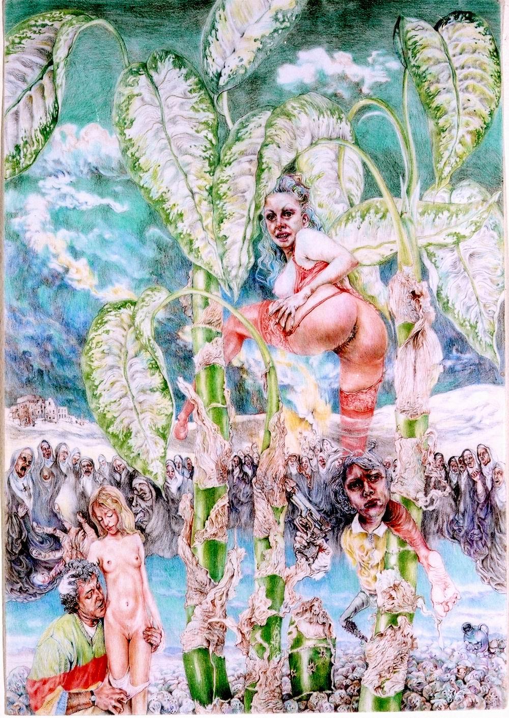 Painting - Die Reifeprüfung, 2001/2002