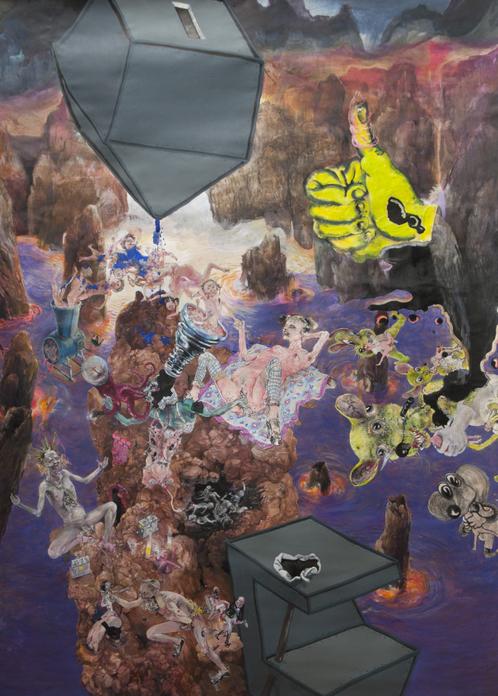 Painting - Lieber Abtreiben, 2012