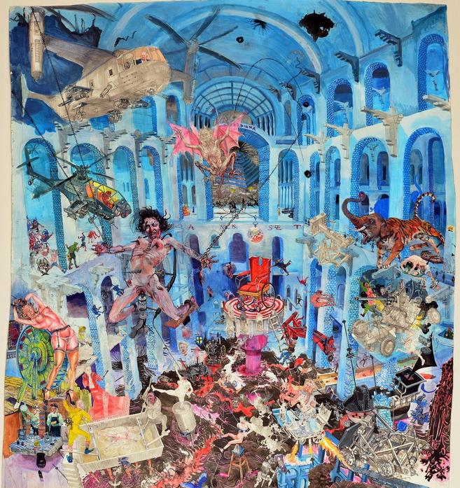 Painting - Der heiße Stuhl, 2013