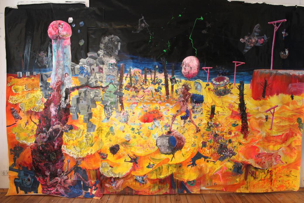 Painting - Omnes Redeunt ad Origines, 2013-2014