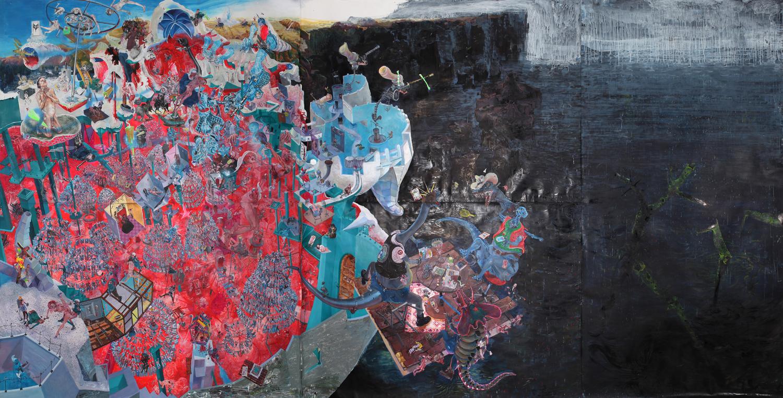Painting - Die Blutmühle, 2011-2015