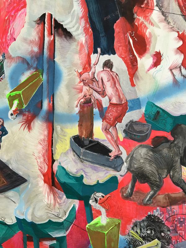 Painting - Die Blutmühle, 2011-2015 - Detail 2