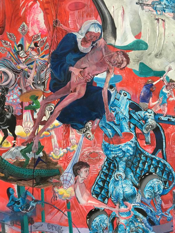 Painting - Die Blutmühle, 2011-2015 - Detail 3