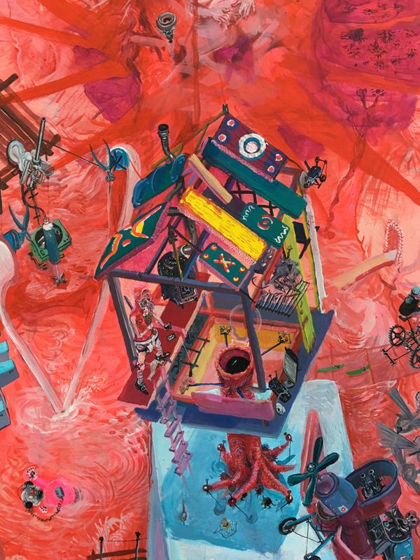 Painting - Die Blutmühle, 2011-2015 - Detail 13