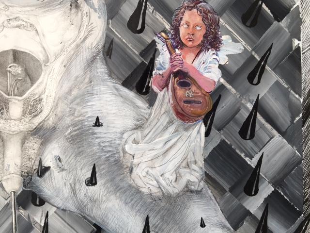 Drawinging - Die andere Wange, 2015, Detail 6