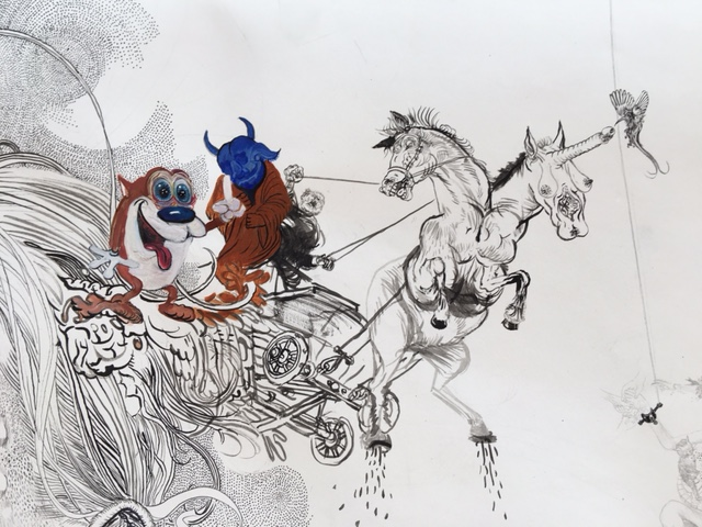 Drawing - Jugend, 2015, Detail 3