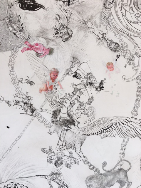 Drawing - Jugend, 2015, Detail 4