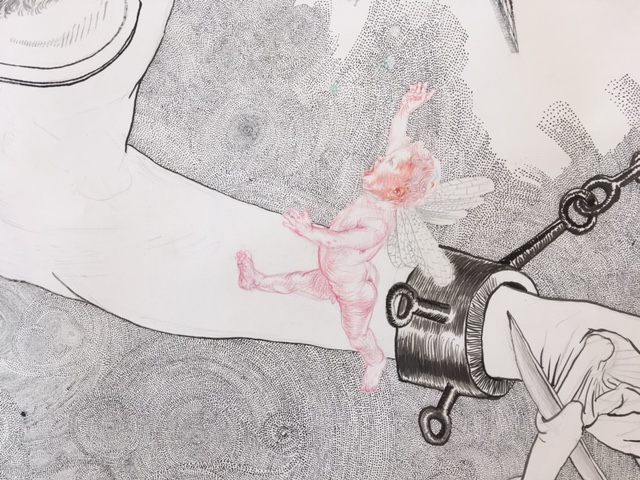 Drawing - Jugend, 2015, Detail 5