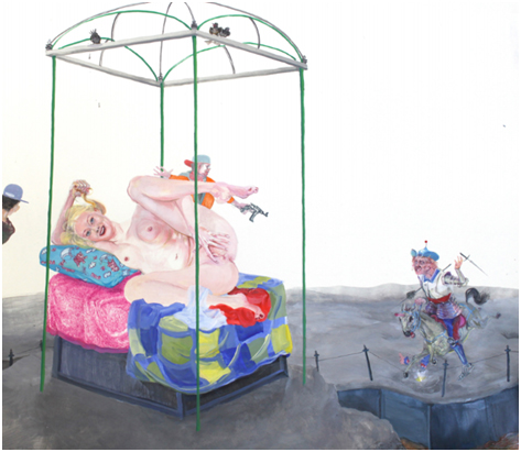 Painting - Error, 2012